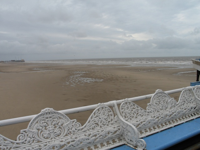 View from Blackpool Central Pier