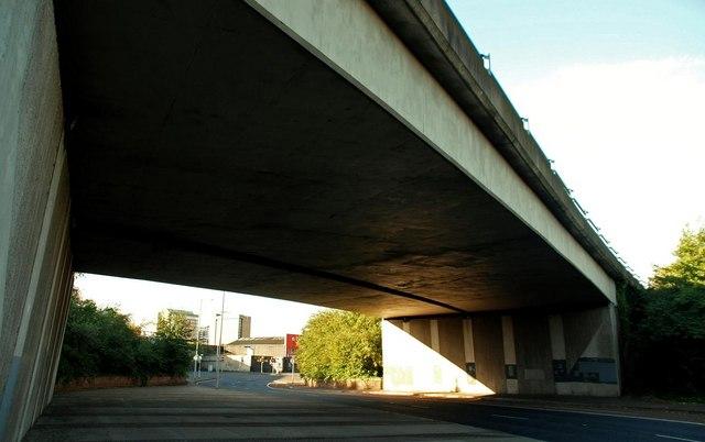 M3 flyover, Belfast