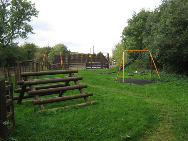 Play area at Ramshaw