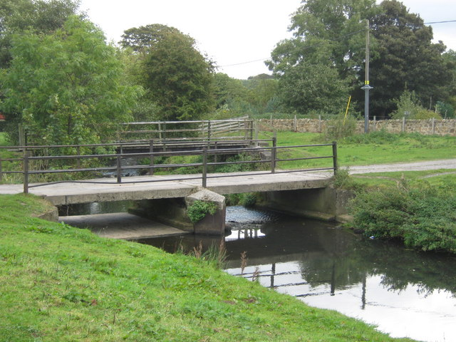 Bridges over the River Gaunless at Evenwood