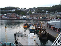 NM8529 : Fishing boats at Oban by Peter Barr