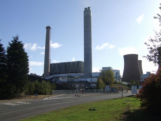 Find Gas Station >> Flue Gas Desulphurisation Plant at... © John M cc-by-sa/2 ...