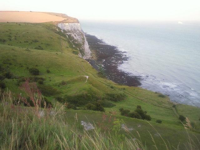 Langdon Hole near Dover