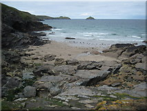SW9679 : Epphaven Cove by Philip Halling