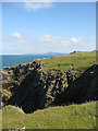 SM8032 : View to Strumble Head and Garn Fawr by Pauline E