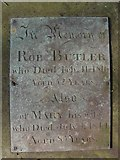 ST8992 : Butler gravestone at St Mary's Tetbury. by Paul Best