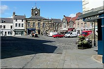 NU1813 : Alnwick Market Place by Graham Horn