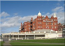 SD3036 : The Metropole Hotel at Blackpool by Gerald Massey