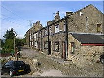 SE0927 : Deans Terrace - Ploughcroft Lane by Betty Longbottom