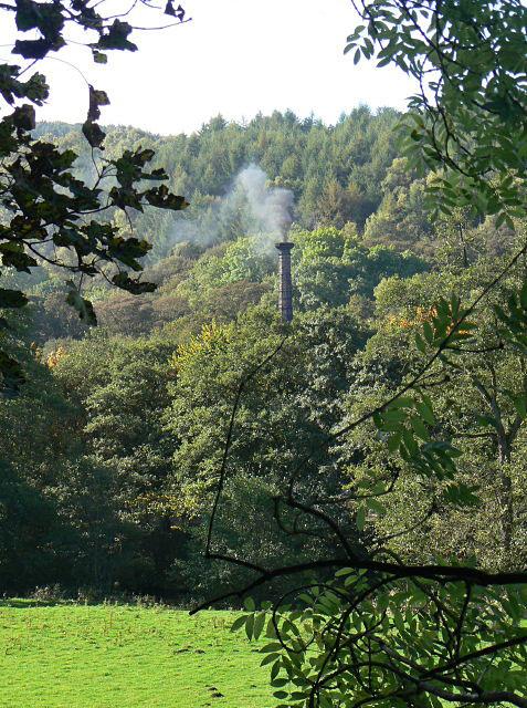 Smoke across the valley