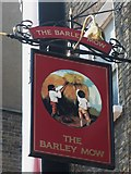 TQ2881 : Sign for The (former) Barley Mow, Dorset Street, W1 by Mike Quinn