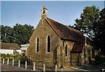 TQ0562 : All Saints, New Haw by Michael FORD