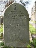 ST8992 : Charles Goodrich gravestone St Mary's Tetbury by Paul Best