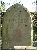 ST8992 : Isaac Holborrow gravestone St Mary's Tetbury. by Paul Best