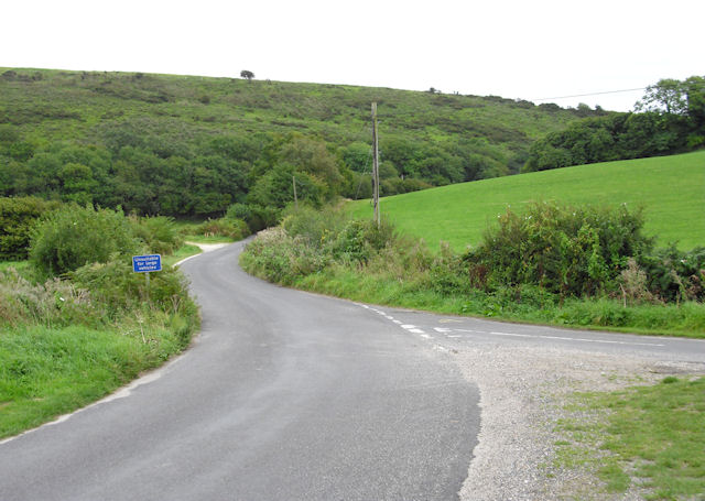 Road to Church Knowle