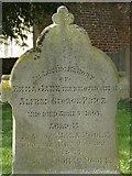 ST8992 : Emma Price gravestone St Mary's Tetbury. by Paul Best