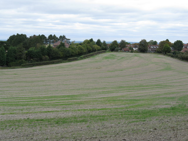 Southern edge of Poynings