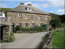 SW9780 : National Trust house in Port Quin by Philip Halling