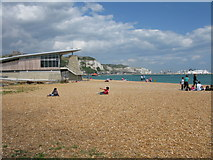 TR3140 : The beach at Dover by Nick Smith