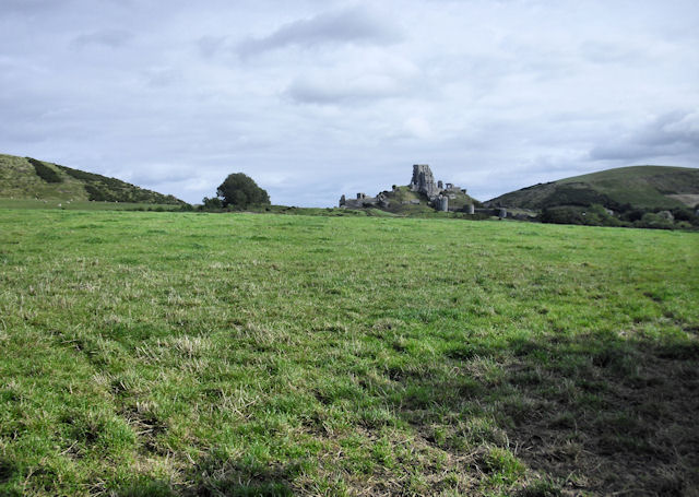 Southwest of Corfe Castle