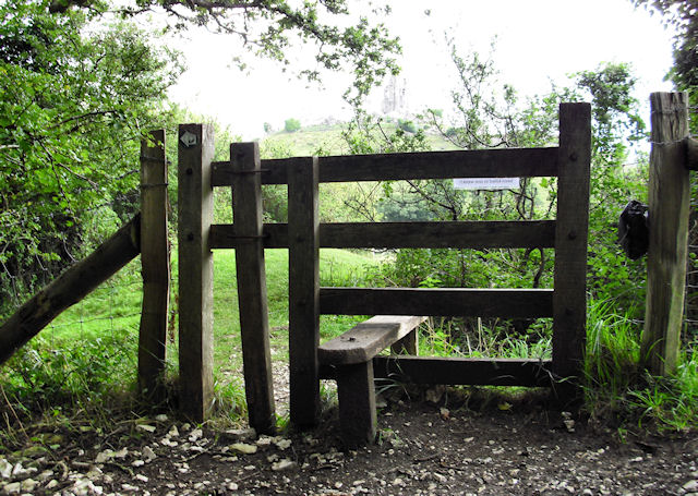 Stile on Purbeck Way
