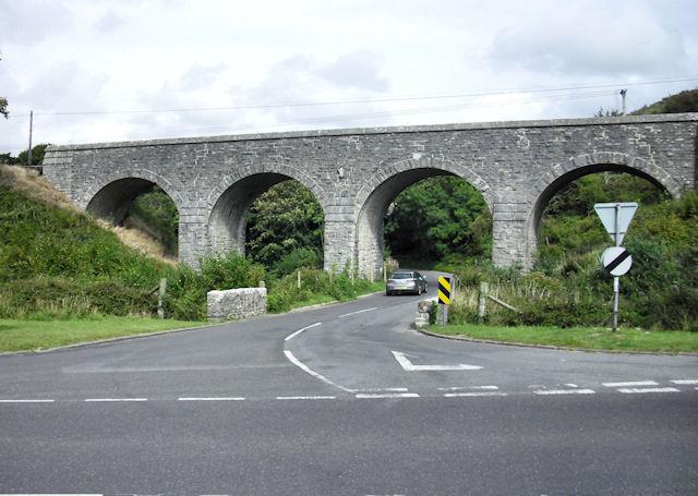 Railway Viaduct, Corfe Castle