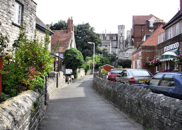 Lane off King's Road West, Swanage