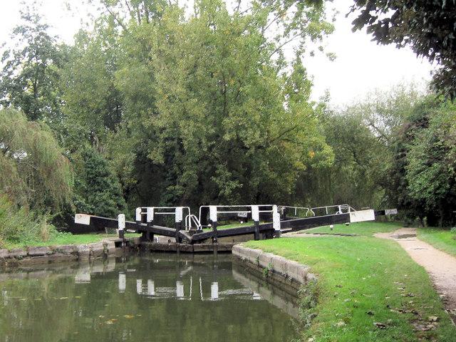 Grand Union Canal: Gas Lock No 52, Northchurch