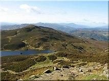 NN9462 : Loch a' Choire and Meall na h-Aodainn Mòire by Eileen Henderson
