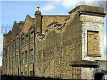 TQ3681 : Former canal warehouses, Copperfield Road by ceridwen