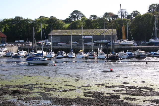 Mud Berths at Penryn