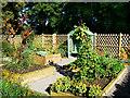 SU1789 : Kitchen Garden, Ranger Centre, Stanton Park, Swindon (2) by Brian Robert Marshall