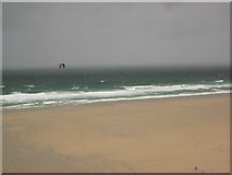 SW8365 : Stormy day on Watergate Beach by Philip Halling