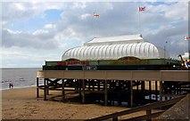 ST3049 : The Pier at Burnham-On-Sea by Steve Daniels