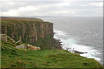 ND2076 : Sea Cliffs at Dunnet Head by jeff collins