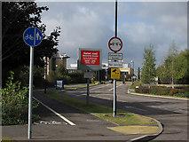 TL4661 : Route through the science park by Hugh Venables