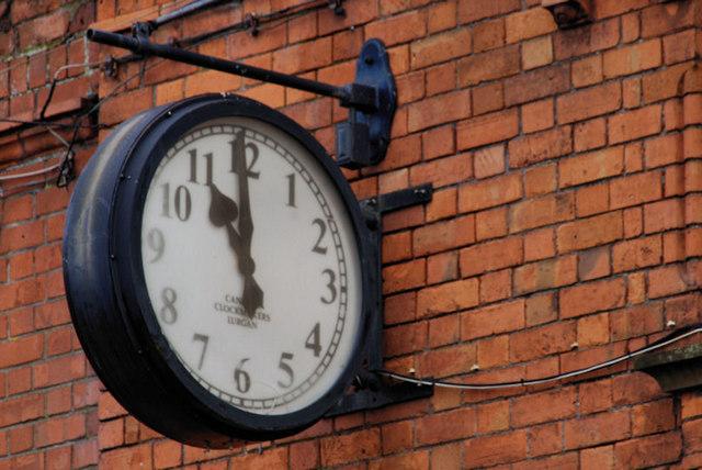 Canavan clock, Lurgan
