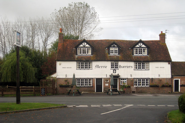The Merrie Harriers Inn,  Cowbeech, East Sussex