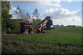 TQ9727 : Farm Machinery at Fairfield Court by Oast House Archive