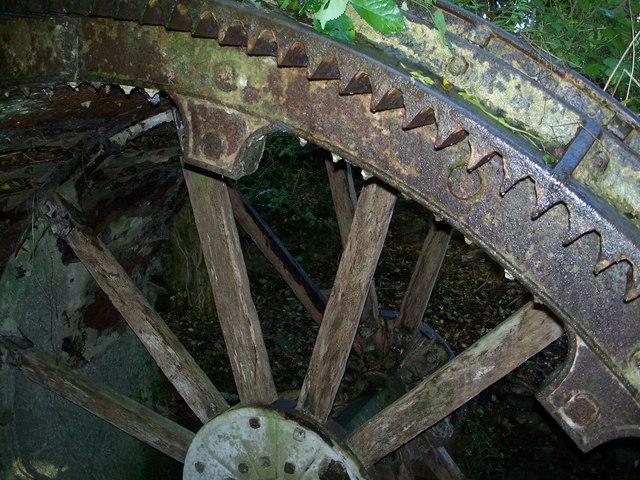 Rag Mill water wheel