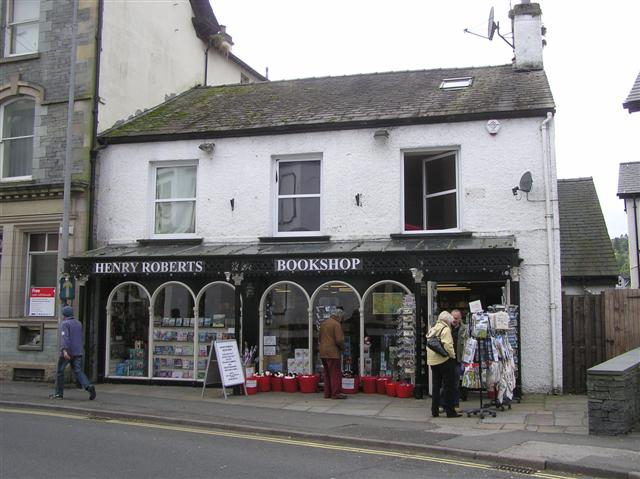 Henry Roberts Bookshop, Ambleside