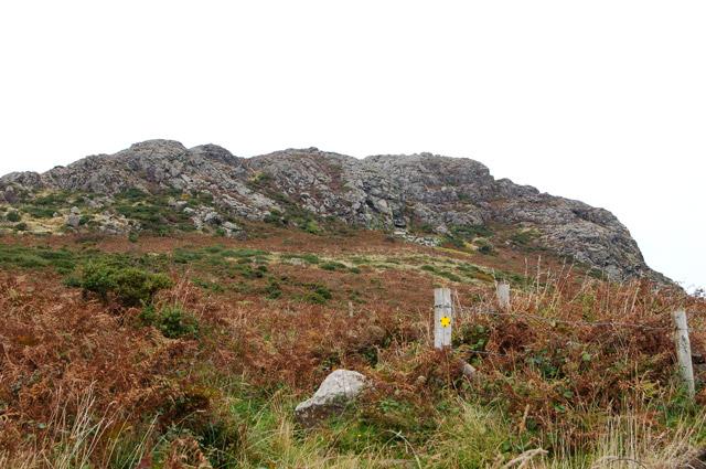 One of the paths to Carn Llidi from Upper Porthmawr Farm