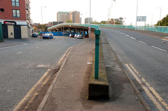The Station Street/Bridge End flyover, Belfast (5)