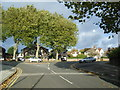 SJ3985 : Garston Old Road/Darby Lane junction. by Colin Pyle