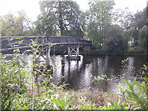 NN6207 : Footbridge over the River Teith, Callander by Peter Bond