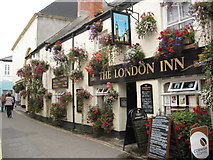 SW9175 : The London Inn - Padstow by Philip Halling