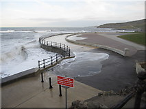 TA0487 : The former bathing pool at South Bay by John S Turner