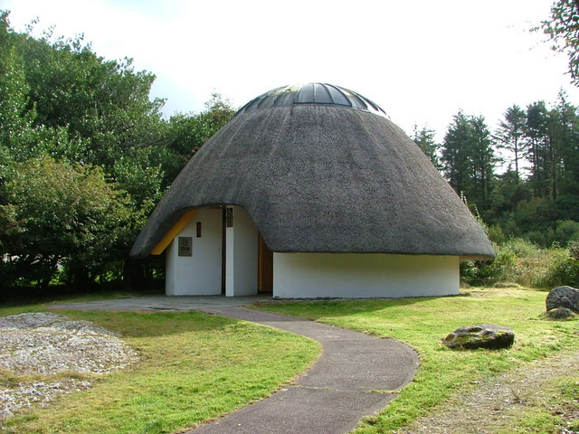 The Best Toilets in Ireland at Gougane Barra
