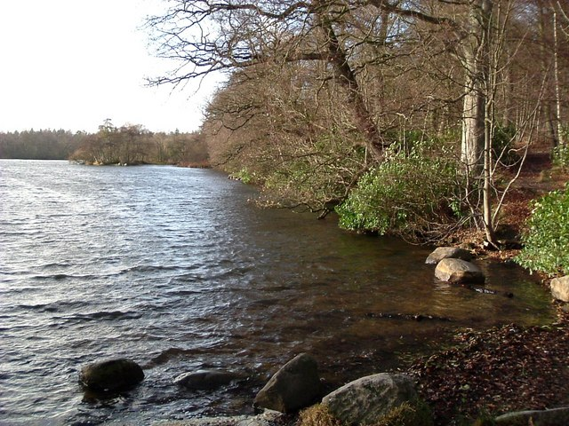 Bolam Lake on a mild Winter day
