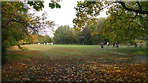 SJ8687 : Archery Practice Field, Bruntwood Park, Cheadle by Geoff Royle